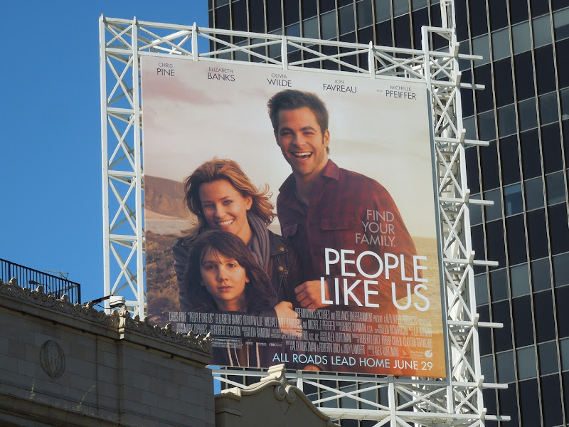 People Like Us movie billboard