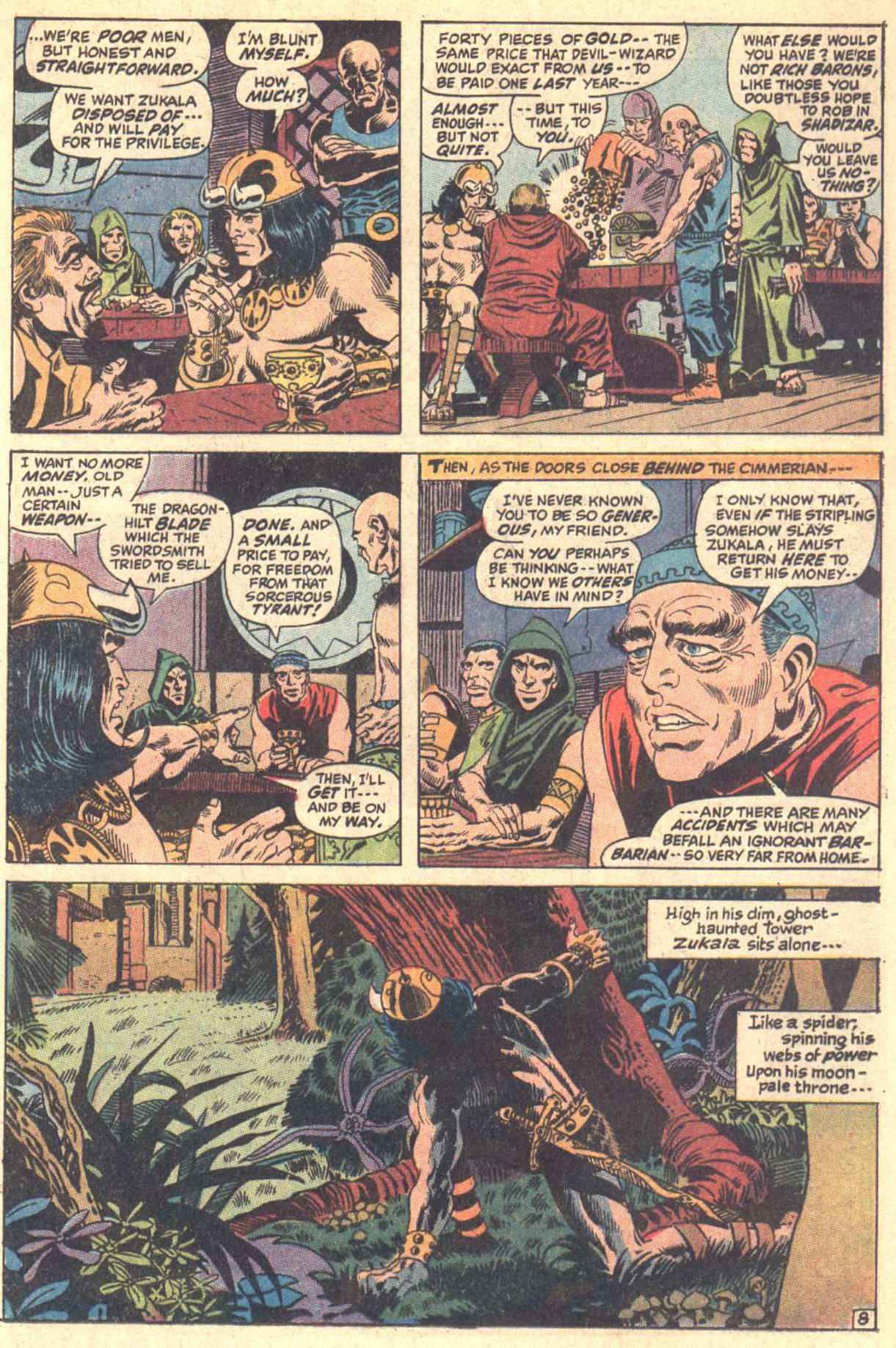 Conan the Barbarian (1970) Issue #5 #17 - English 9