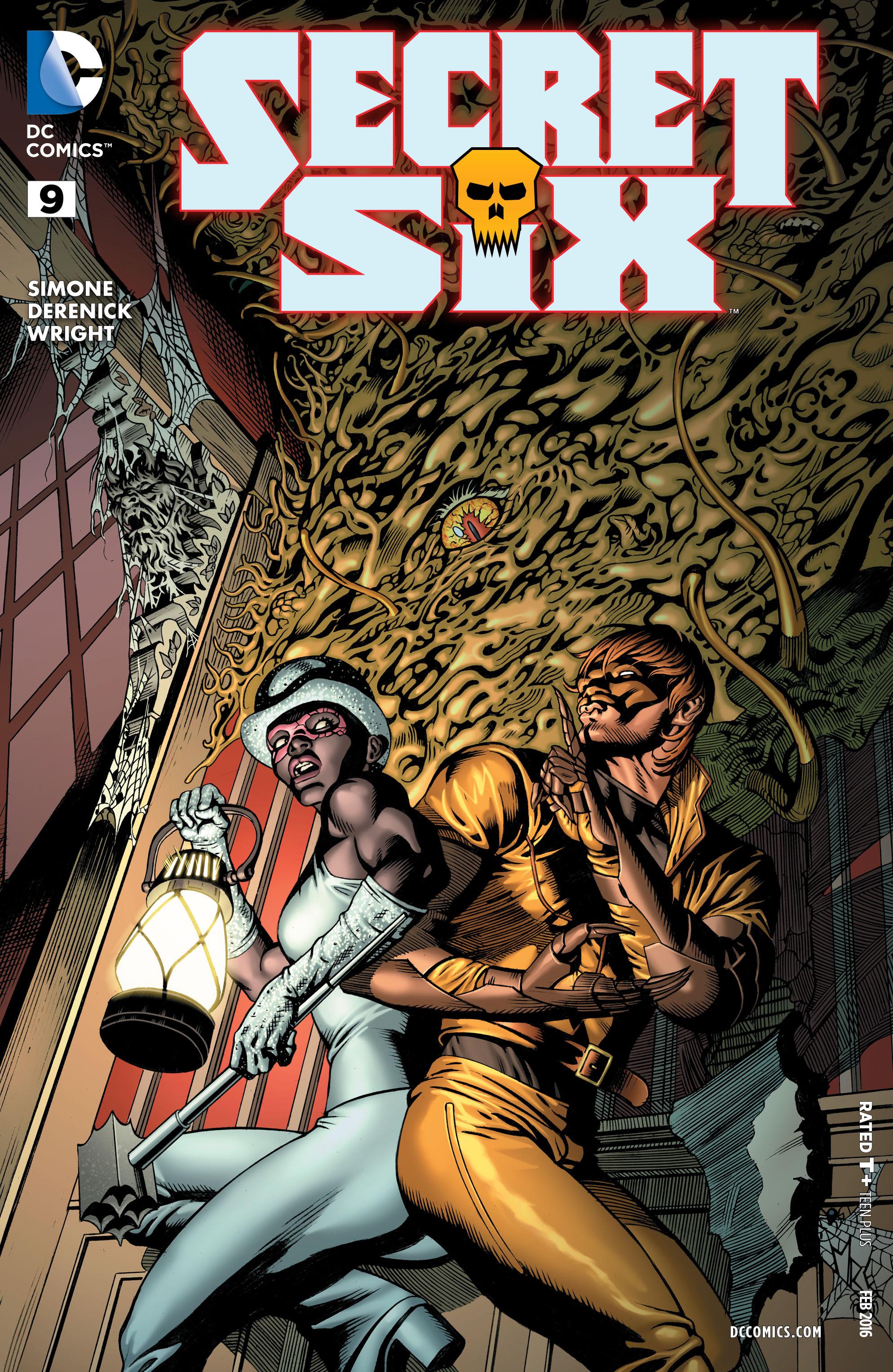 Read online Secret Six (2015) comic -  Issue #9 - 1