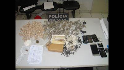 POLICIA CIVIL PRENDE AUTOR DOS ROUBOS OCORRIDOS EM CAJATI E APREENDE GRANDE QUANTIDADE DE DROGAS