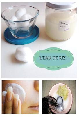 Comment utiliser l'eau de riz pour améliorer la beauté du corps