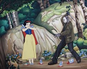 Meme de humor sobre Blancanieves