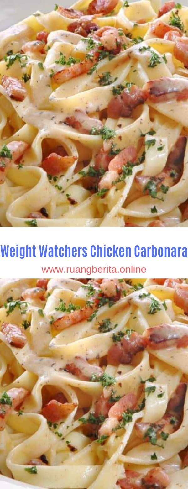 Weight Watchers Chicken Carbonara