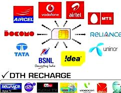 Online Recharge DTH mobile dish recharge Internet with a missed call, dth recharge online offers