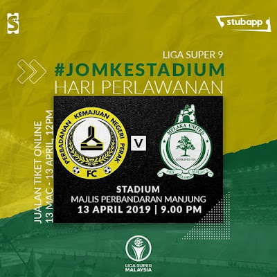Live Streaming PKNP FC vs Melaka United Liga Super 13.9.2019