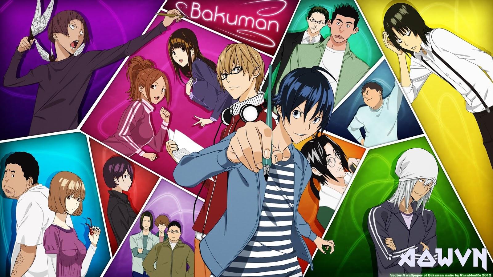 thumb 1920 723801 - [ Anime 3gp Mp4 ] Bakuman SS1 + SS2 + SS3 | Vietsub - Đời thường Tình yêu Siêu hay