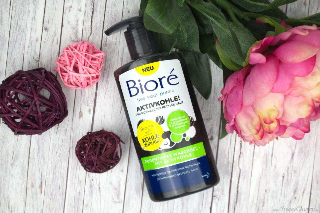 Bioré - Porentiefes Waschgel mit Aktivkohle