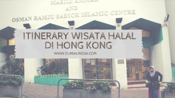 wisata halal hong kong 4 hari 3 malam