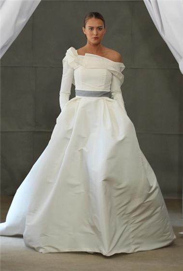 i heart wedding dress carolina herrera bridal spring 2013