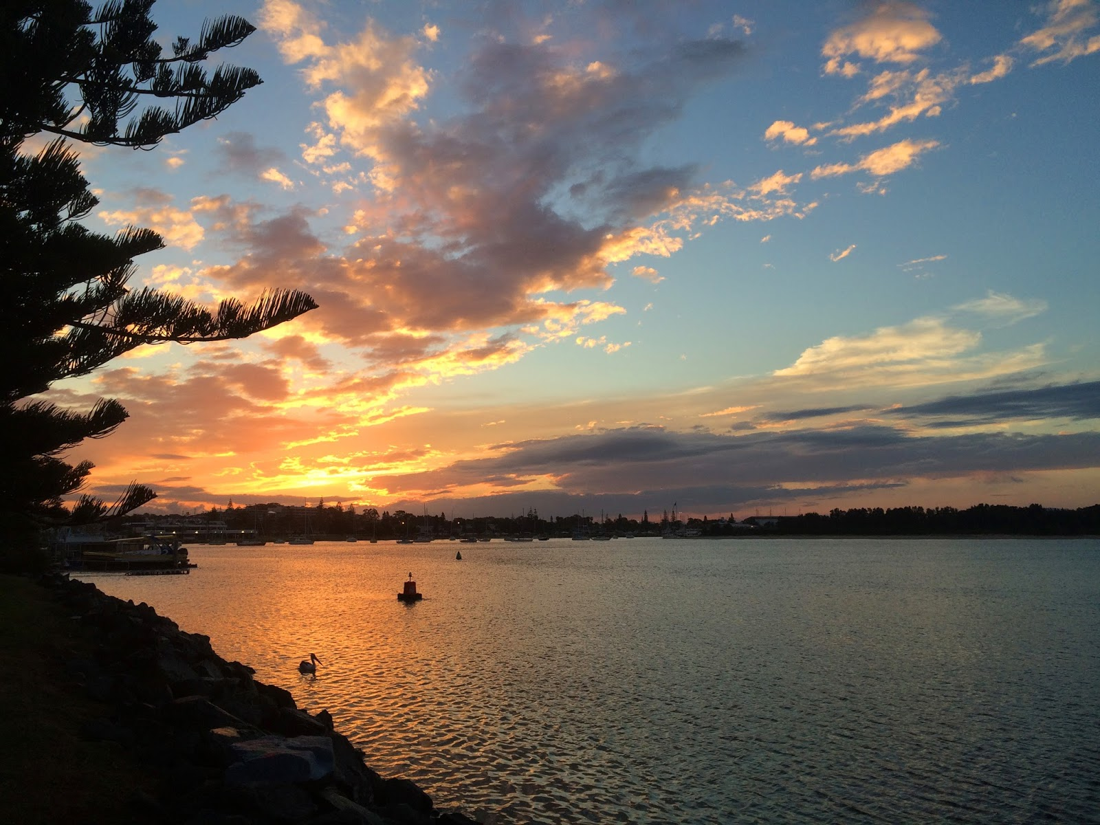Sunset Hastings River Port Macquarie