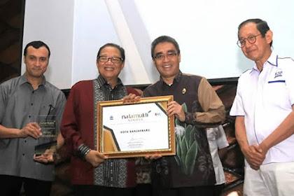 Pemko Banjarbaru Satu-satunya Peraih Natamukti Nindya di Kalsel