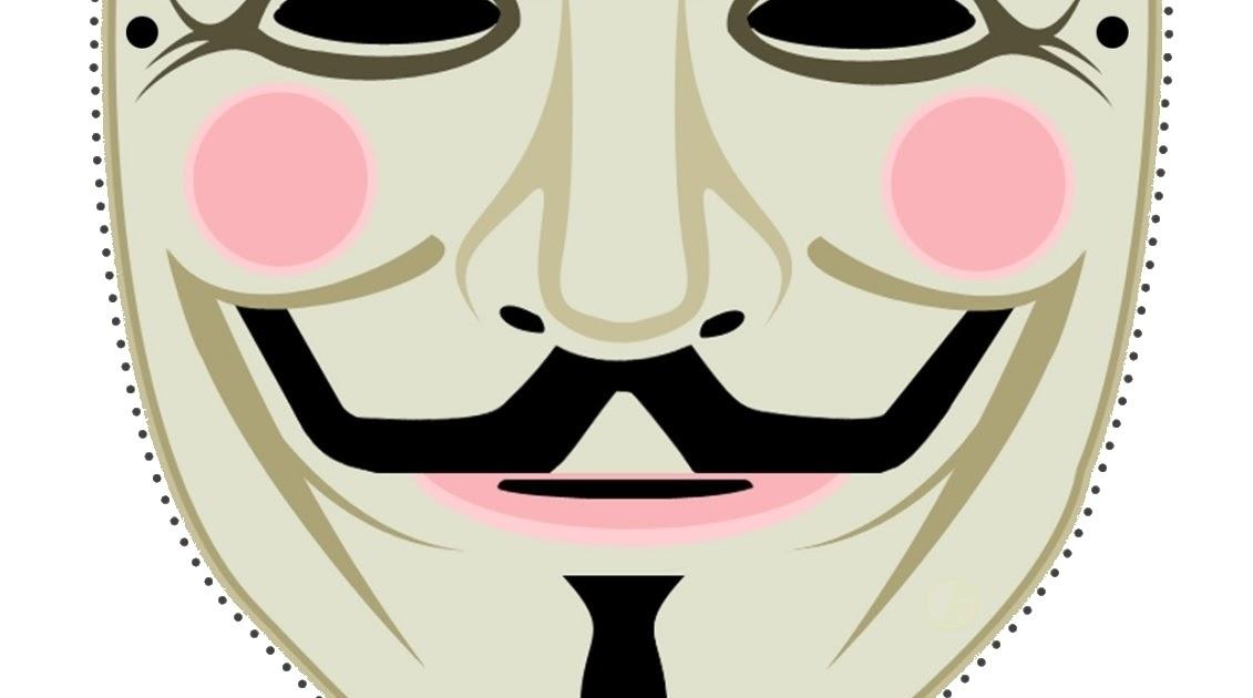 Guy Fawkes Maske zum Selbermachen   DUKI DAO.DE