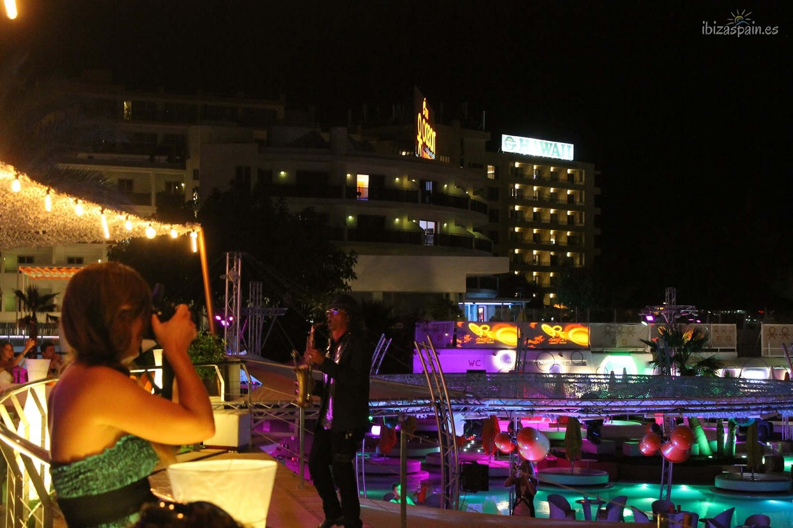Ocean Beach Ibiza Shows Musica