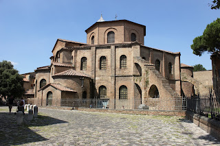 The Basilica of San Vitale in Ravenna