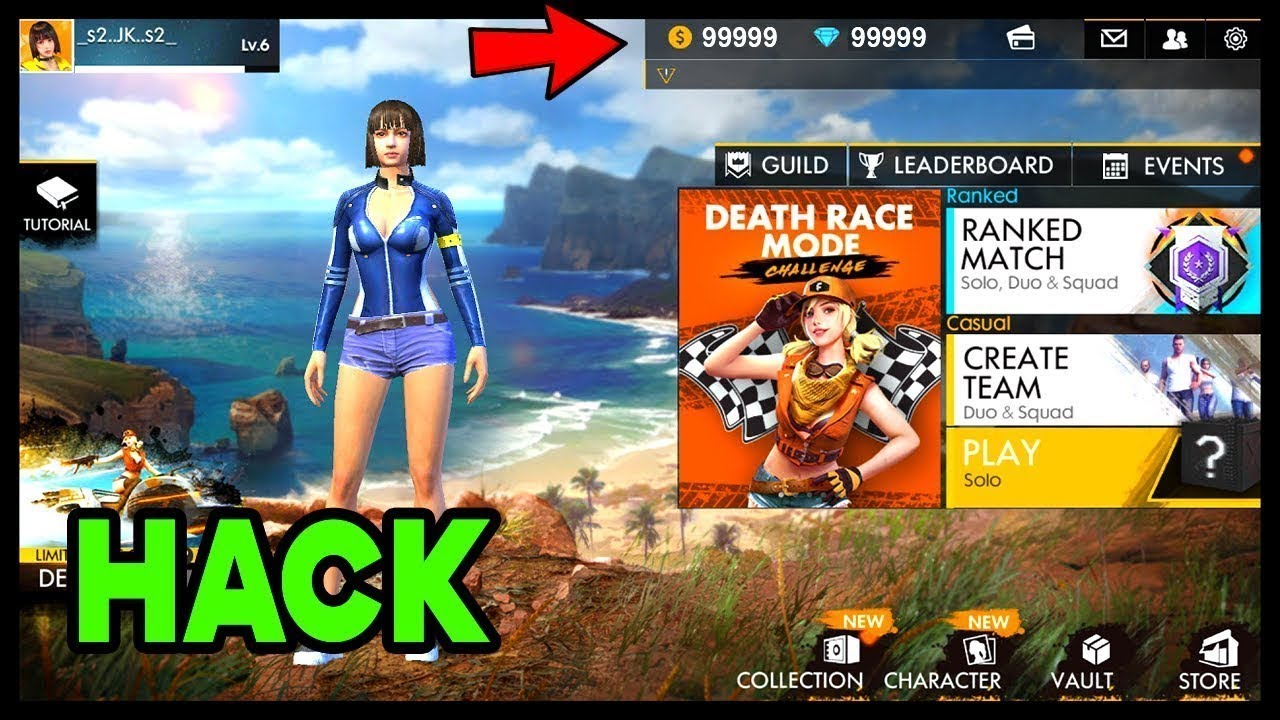 Free Fire Hack Unlimited Diamond Mod Apk With Proof - Ffd ... -