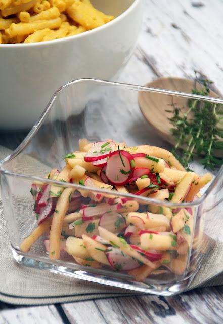 Apfel-Radieschen-Salat