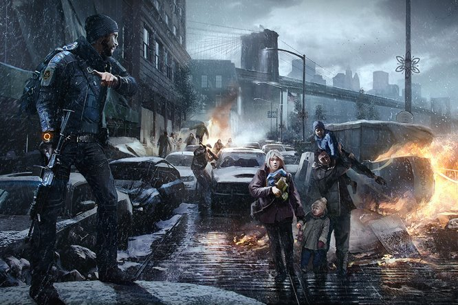 Tom Clancys The Division game play
