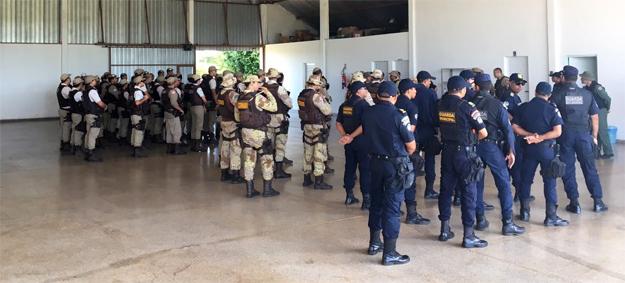 Polícias Civil, Militar, Rodoviária Federal e Guarda Municipal realizam mais uma operação Saturação em Barreiras (BA)
