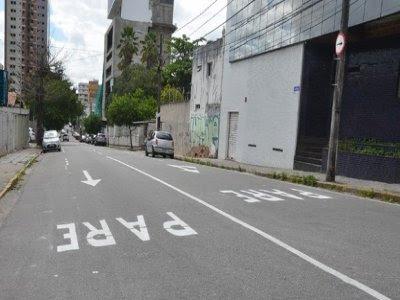 Prefeitura implanta mão única em trecho da Av. Rio Branco, em Campina Grande
