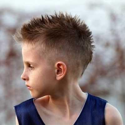 gaya rambut mohawk untuk anak 3214789