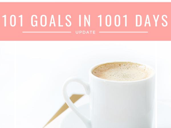 101 in 1001 List Update/2019 Plans (Already)