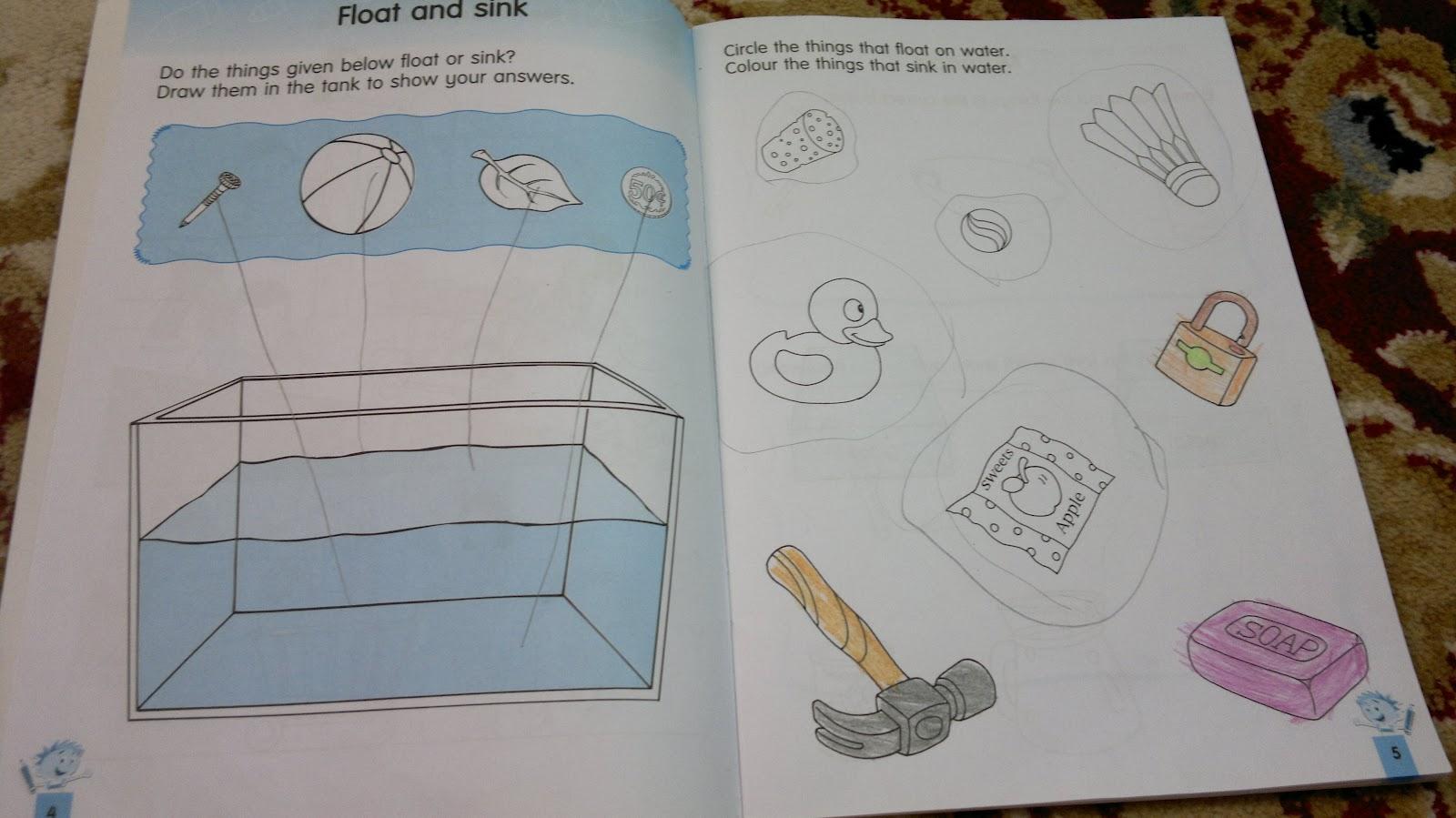 Umm Maimoonah S Journal Push Amp Pull Float Amp Sink
