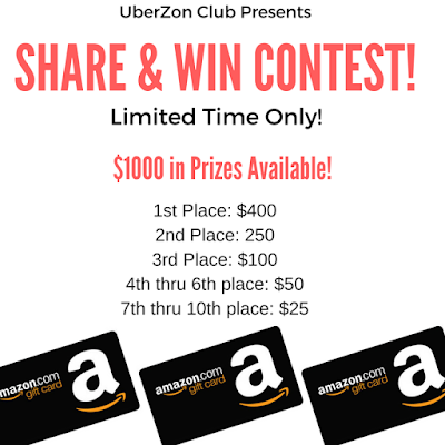 $1000 in Prizes Amazon Giveaway