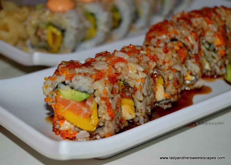 build your own sushi at Chez Sushi Dubai Marina