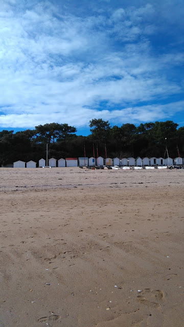 plage, mer, sable, Noirmoutier, Vendee, bullelodie