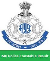 MP Police Constable Result