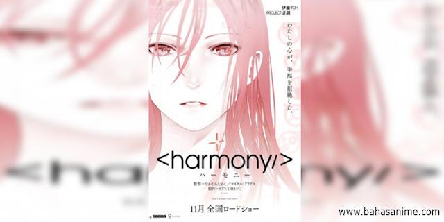 rekomendasi anime Harmony