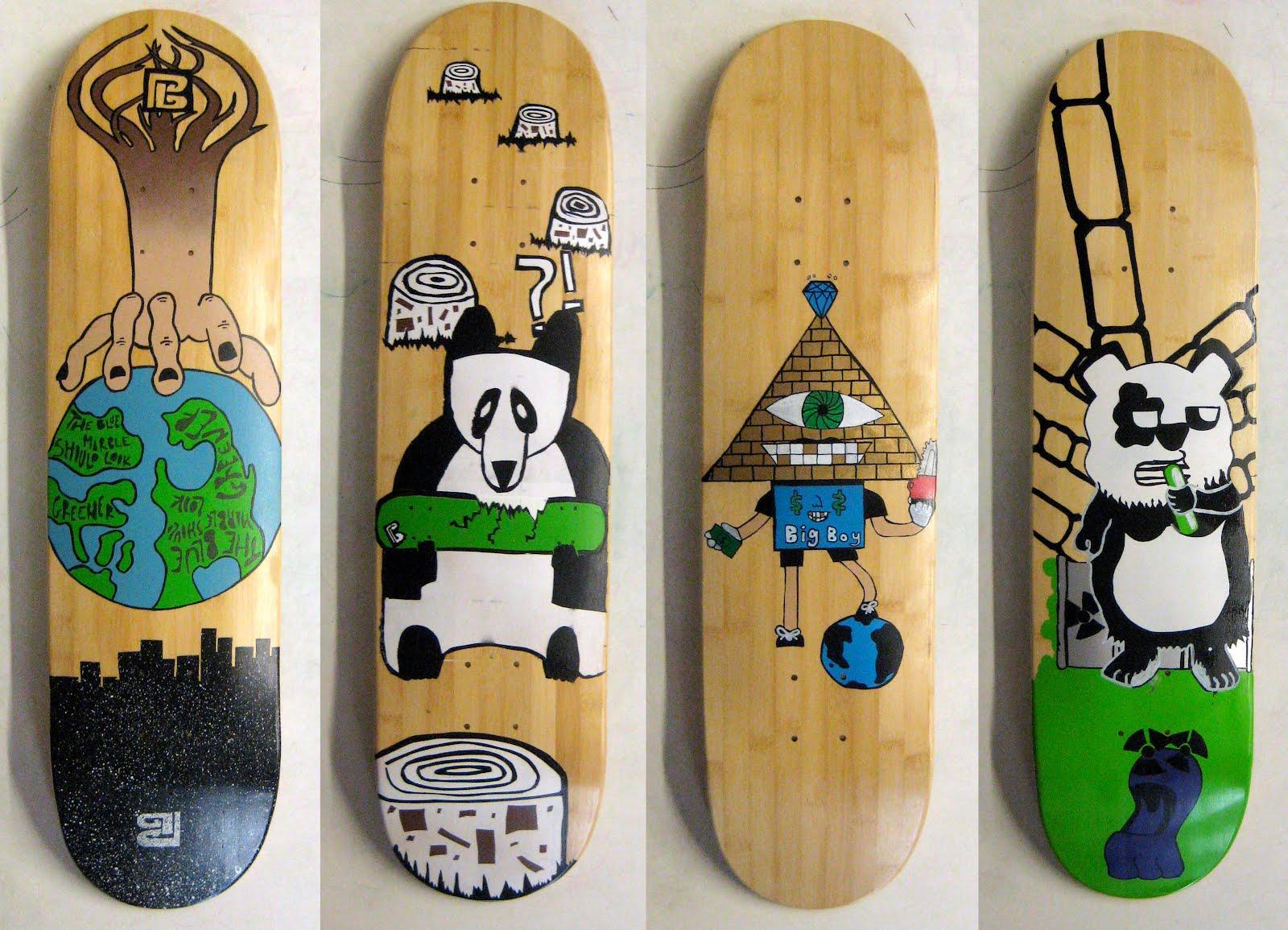 Oasis Skateboard Factory Osf X Bamboo Sk8 2012