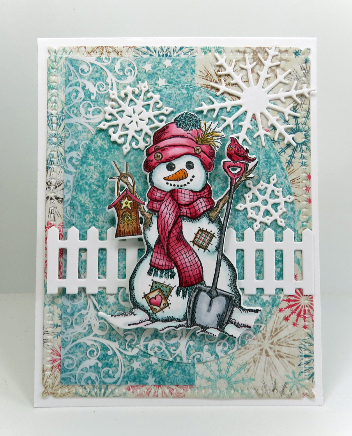 Th ink ing of you snowman greetings hello friends i hope you are all doing well and that you are beginning to get in to the christmas spirit this week cold weather finally arrived here and kristyandbryce Gallery