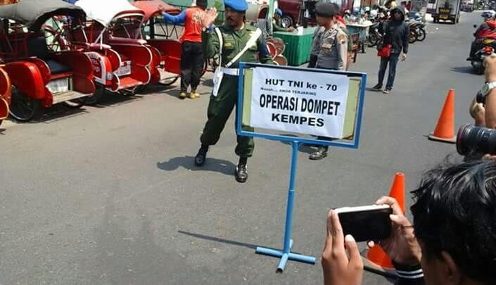 TNI Lakukan Rajiah Dompet Kempes di Solo