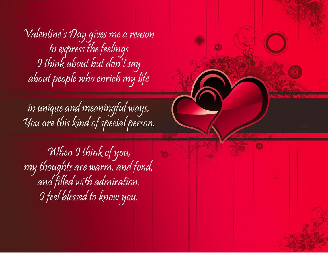 200 Happy Valentines Day 2018 Quotes SMS Messages Wishes Status Poems – Valentine Day Special Greeting Cards