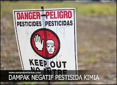 5 Dampak Negatif penggunaan Pestisida Kimia