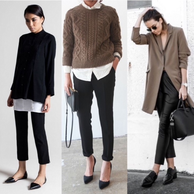 great cropped pants looks