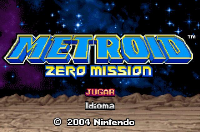 Metroid: Zero Mission - Español - Captura 1
