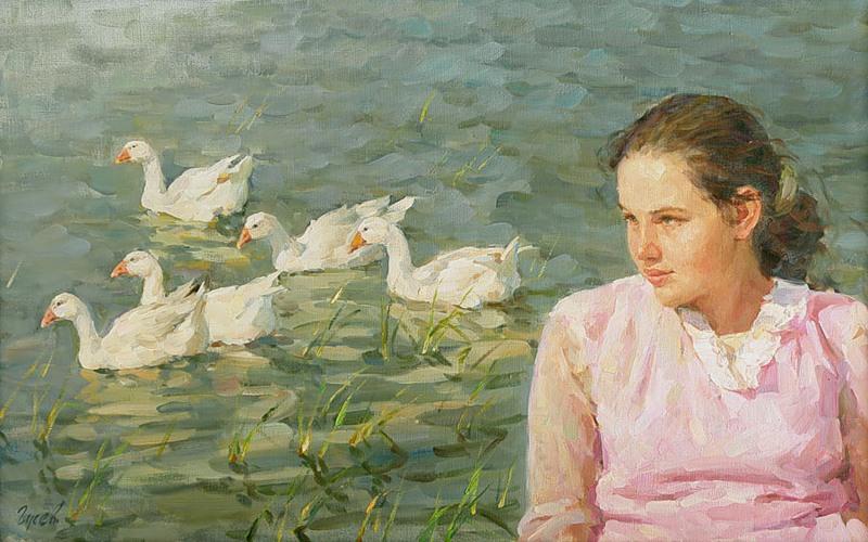 Vladimir Gusev / Владимир Гусев, 1957 | Figurative ...