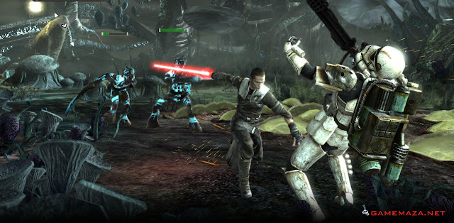 Star Wars The Force Unleashed Gameplay Screenshot 4