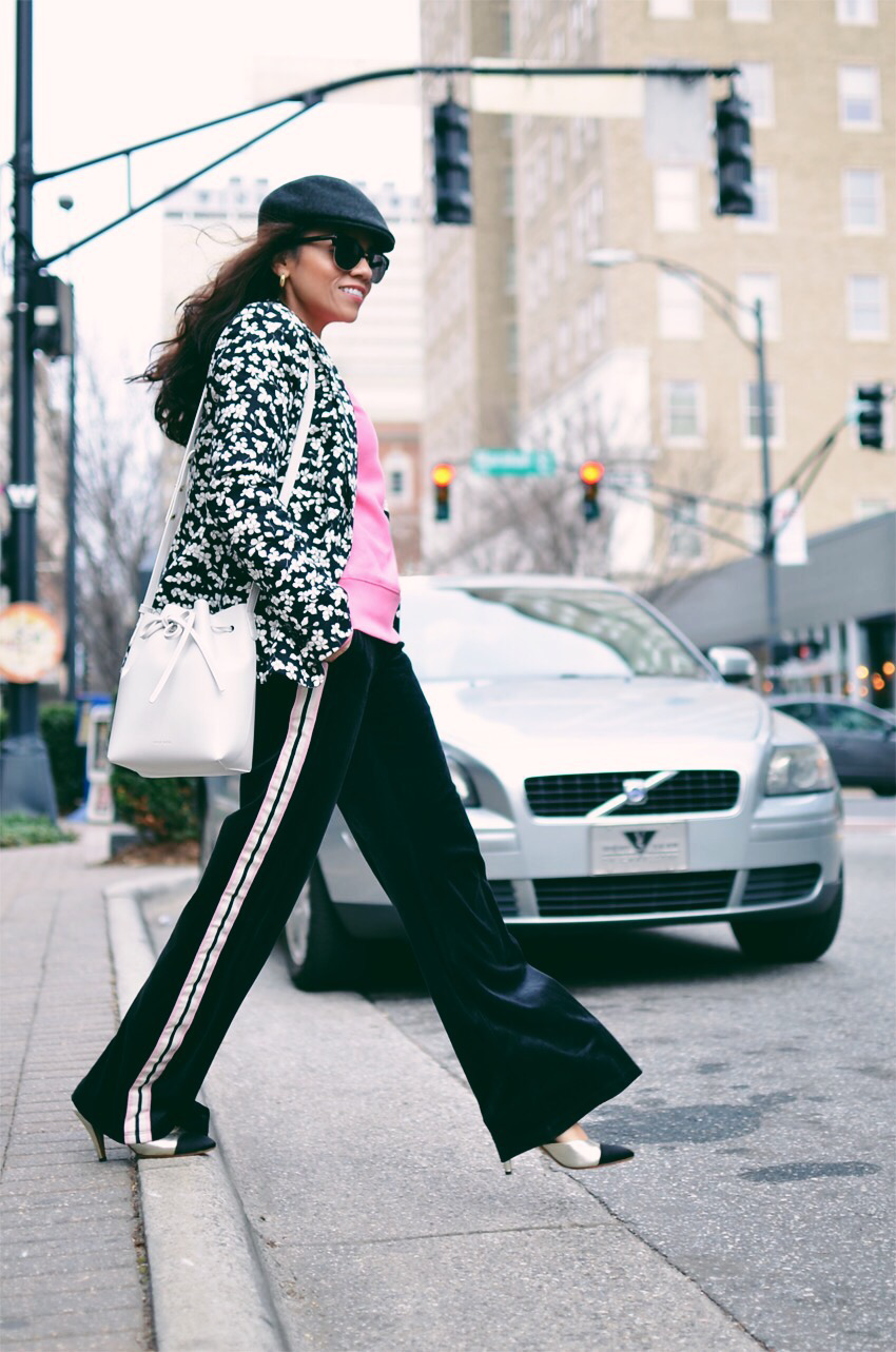 Track pants street style