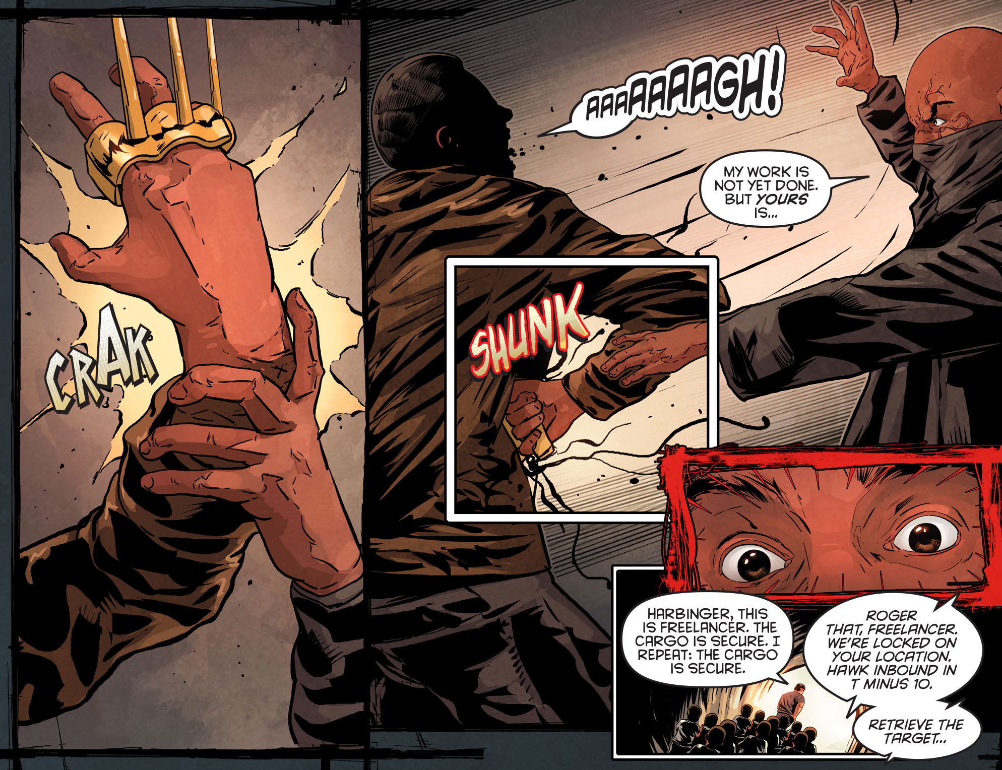 Read online Arrow: Season 2.5 [I] comic -  Issue #12 - 17