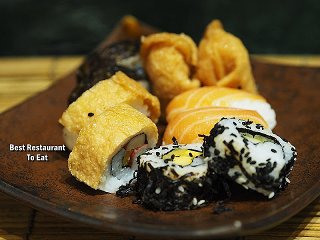 The Mill Clip And Eat Buffet Menu - Japanese Dishes - Assorted Sushi and Maki Roll