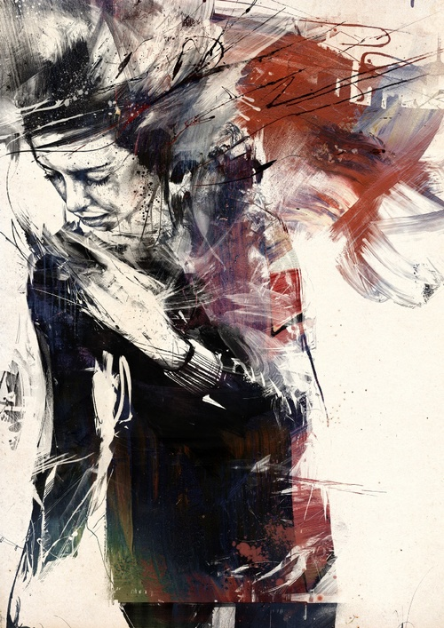 19-Spirochaete-Russ-Mills-Paintings-with-Intensity-of-Expression-www-designstack-co