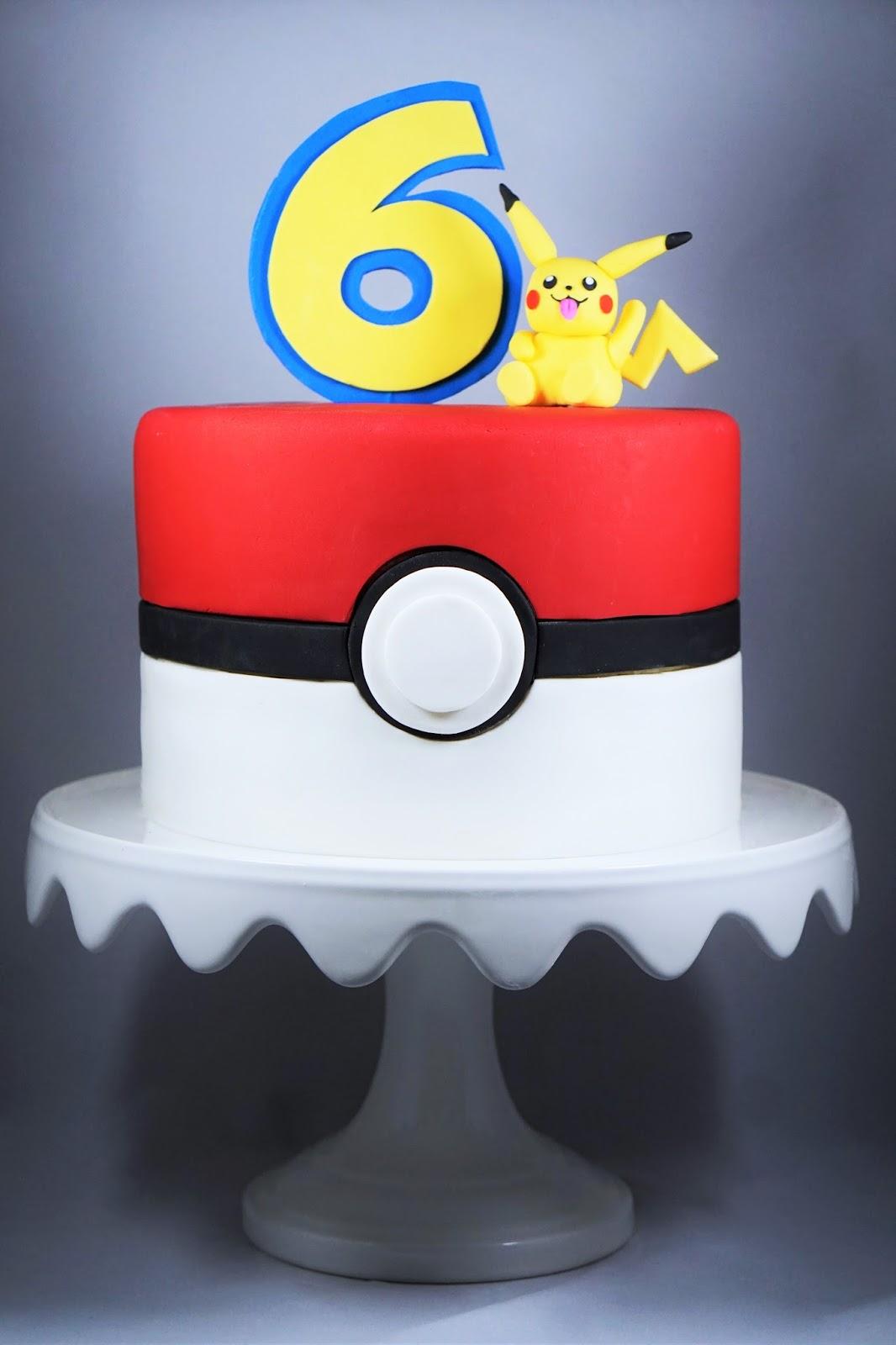 Eves Fika Pokmon Birthday Cake Pokmontrta