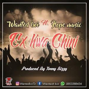 Download Mp3   Wanted Boi ft Hope Music - Ex Kwa Chini