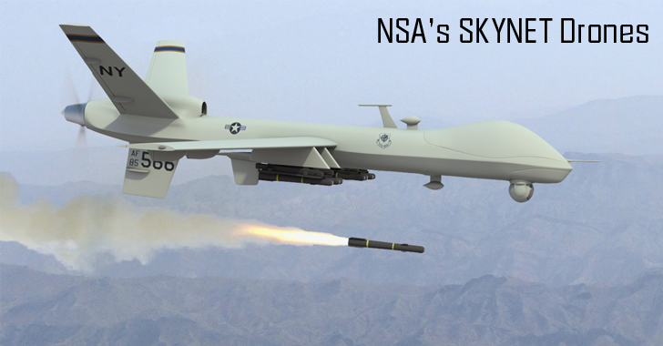 NSA's Top-Secret SKYNET May Be Killing Thousands of Innocent Civilians With Drones