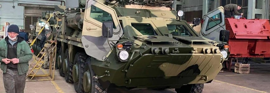 ХКБМ передало п'ять БТР-4 за простроченим контрактом