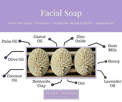 Mary Jardin Soap Ingredients