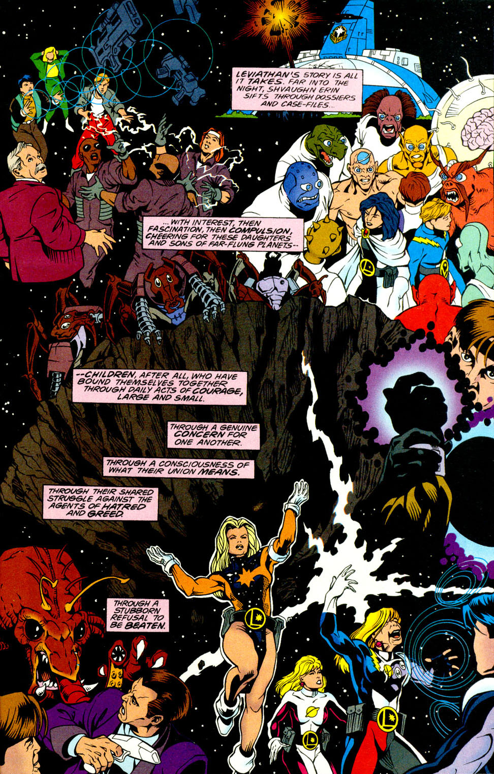 Legion of Super-Heroes (1989) _Annual_5 Page 49